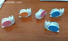 Cute Snail clips - Stationery