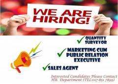 We are hiring - see list below